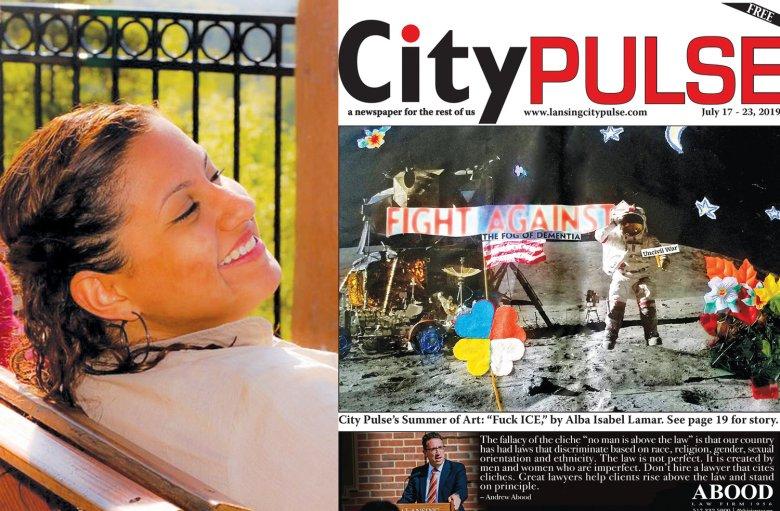 "Image of ""This week's Lansing City Pulse cover artist: Alba Isabel Lamar"""